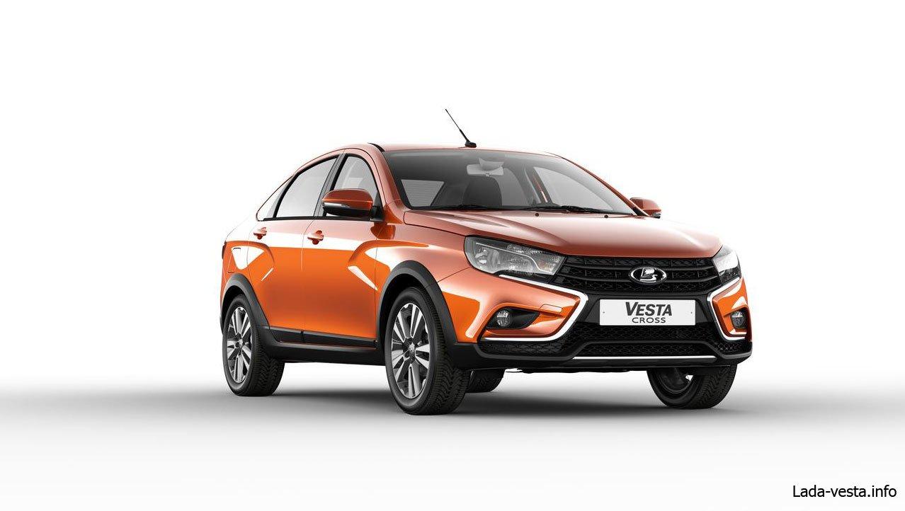 Lada vesta cross sedan экстерьер
