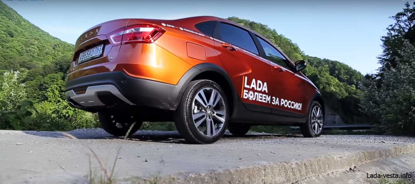 Lada vesta Cross Sedan комплектации и цены