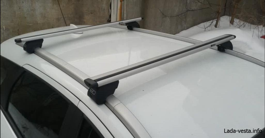 Багажник на крышу для Лада Веста: обзор цен и производителей